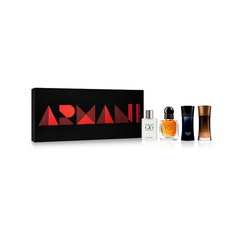 Miniature Collection by Armani For Men 4 Piece Set